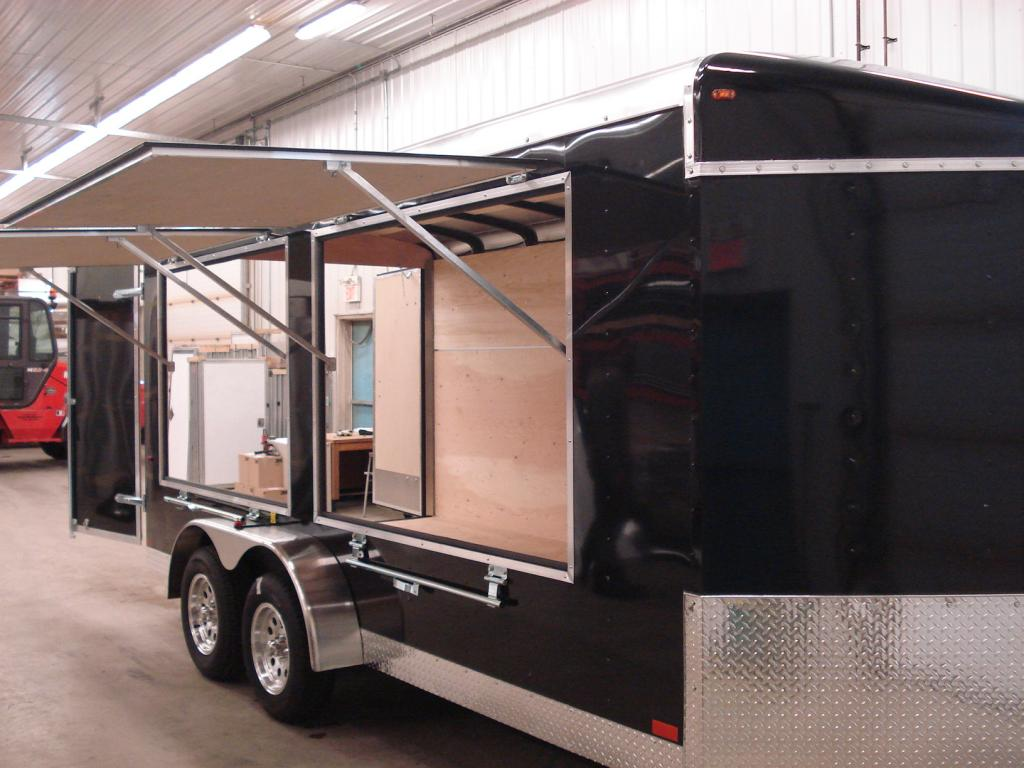 Agassiz Trailers Specializing In Enclosed Trailers And Auto Hauler